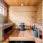 Omakotitalon rakennusprojekti saunatilat