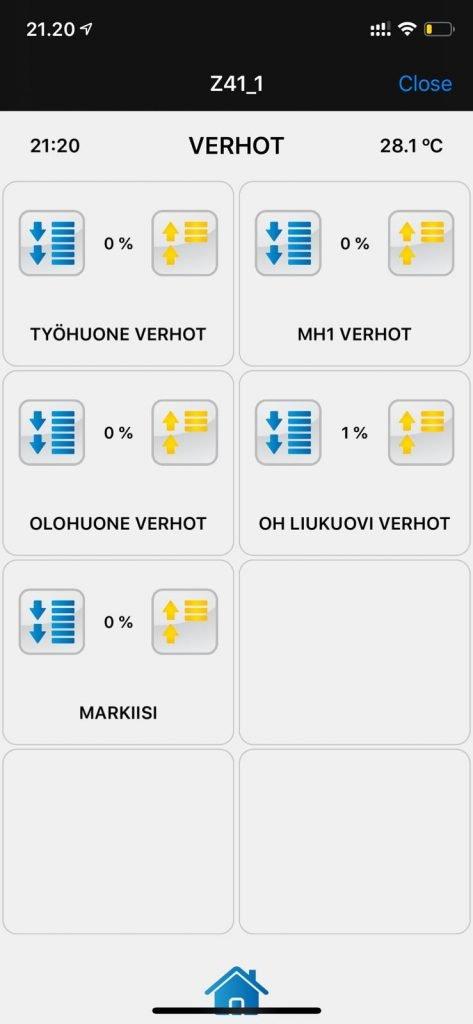 Zennio KNX Verhot