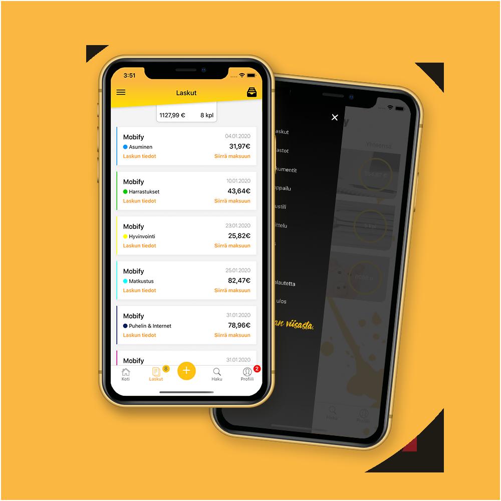 Mobify maksa laskusi puhelimella